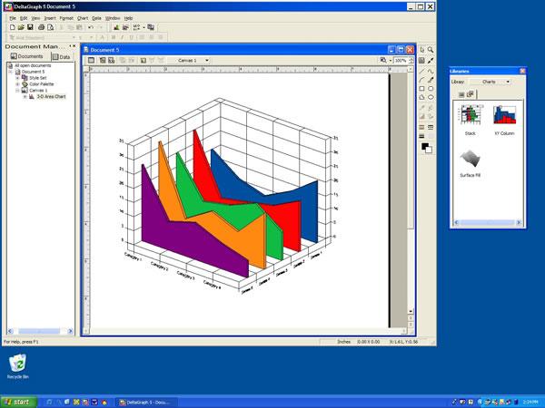 RockWare Software: DeltaGraph for Windows
