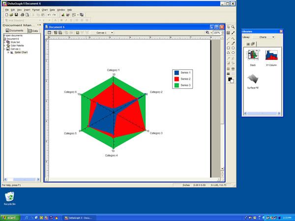 RockWare Software: DeltaGraph